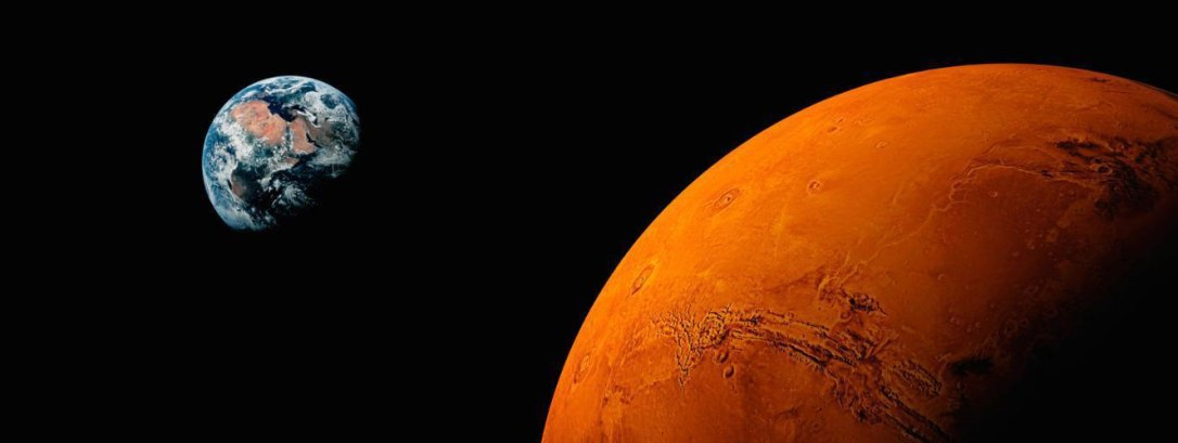 mars-earth-background